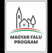 Magyar Falu Program tábla - falutábla