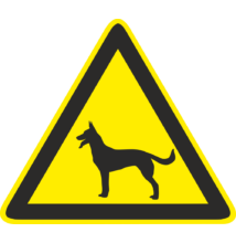Kutya piktogram tábla