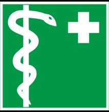 Orvos tábla és matrica