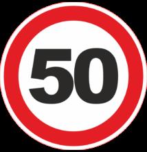 50-es tábla