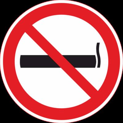 Dohányozni tilos tábla - piktogram