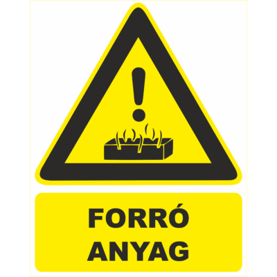 Forró anyag tábla