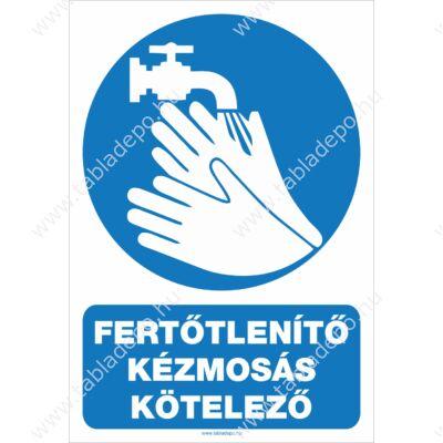 fertőtlenítő kézmosás kötelező