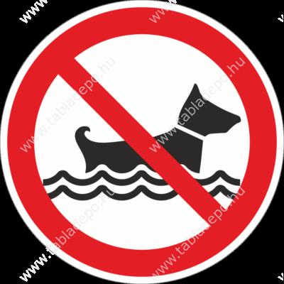 kutyát fürdetni tilos