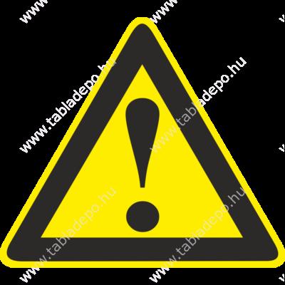veszélyt jelző táblák