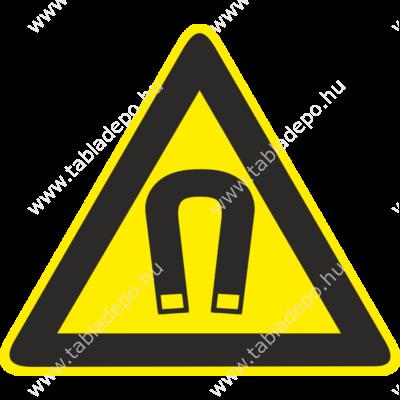 Erős mágneses tér jelzés