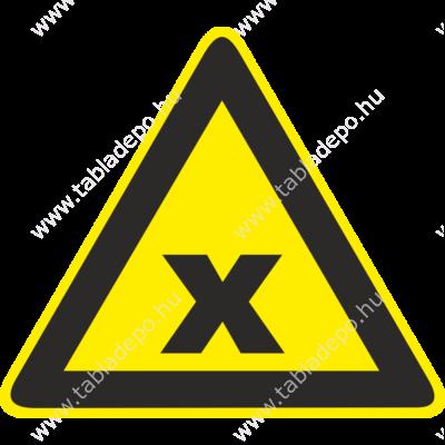 veszély jelző táblák