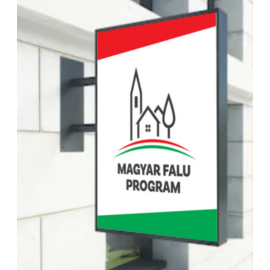 Magyar Falu Program kisbolt cégér