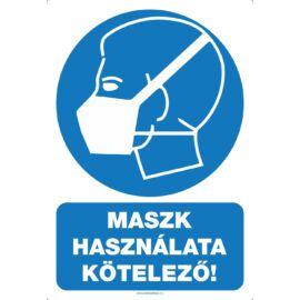 maszk használata kötelező