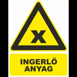 veszélyes anyagot jelző táblák