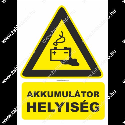 akkumulátor helyiség